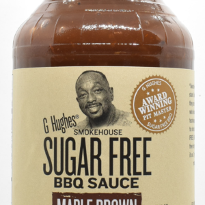 G. Hughes sugar free BBQ omáčka Maple Brown 510g