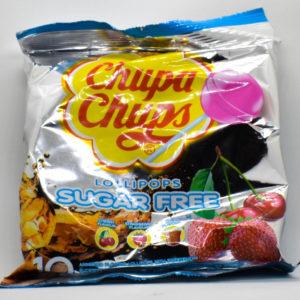 Chupa Chups lízátka bez cukru 110g